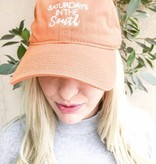 Orange Saturdays in the South Baseball Cap