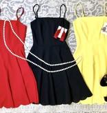 Destiny Scalloped Dress