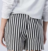 Black Stripe Spring Shorts