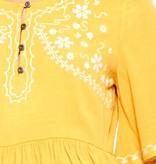 Sunflower Half Sleeve Babydoll Top