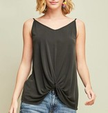 Black Knotted Tank