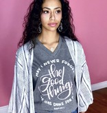 Heather Grey The Good Things T-Shirt