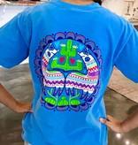 True Blue Colorful Cactus T-Shirt