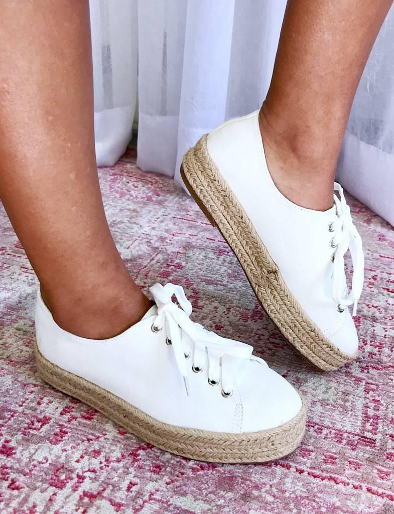 Gianna White Sneaker