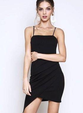 Black Knit Cami Dress