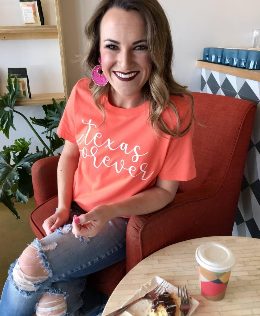 """""""Texas Forever"""" Short Sleeve T-Shirt"""