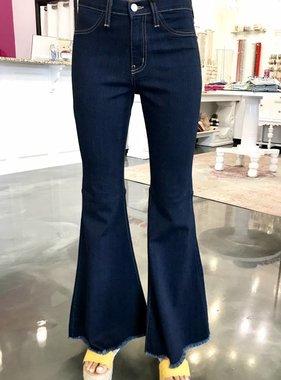 Judy Blue Dark Wash High Waisted Super Flare Jean