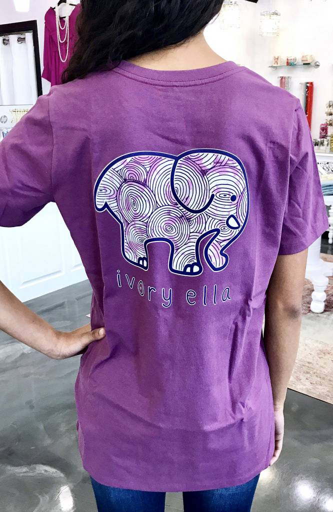 Berry SS Ripples Elephant T-Shirt
