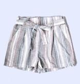 New Mexico Linen Ribbon Tie Shorts