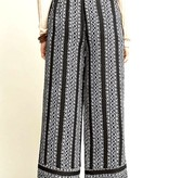 Black Stripe Pant