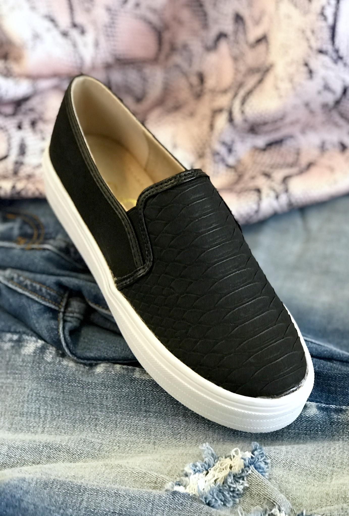 Peyton Slip On Sneaker Black
