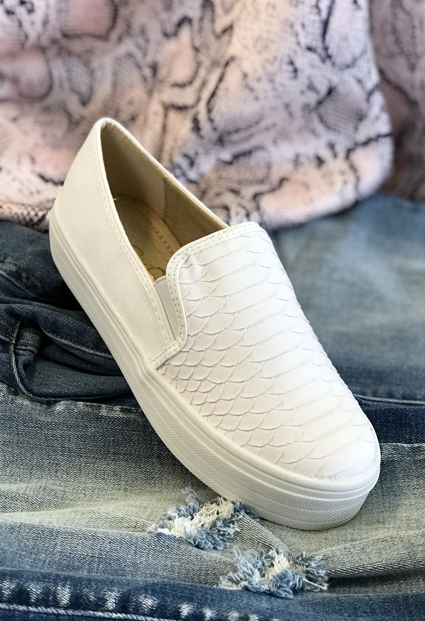 Peyton Slip On Sneaker White