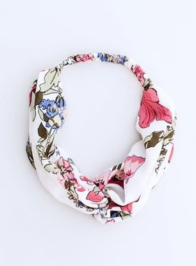 Summer Floral Twisted Headband