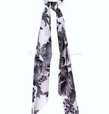 Hawaiian Floral Print Hair Scarf