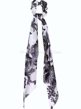 Hawaiian Floral Print Hair Scarf
