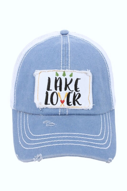 """Lake Lover"" Hat"