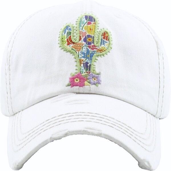 Floral Cactus Hat