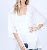 Ivory Sheer Kimono