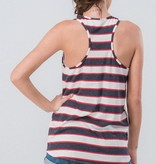 Ivory American Flag Cactus Tank Top