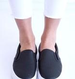 Black Slip On Sneaker