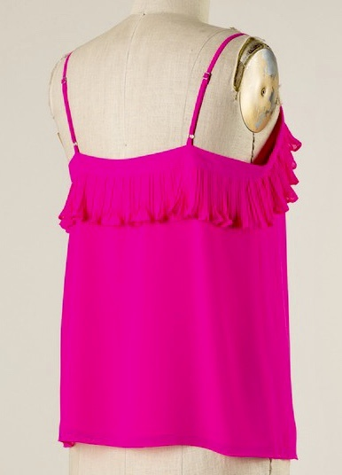 New Hot Pink Cami Top