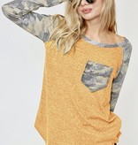 Adventurous Camo Pocket Top