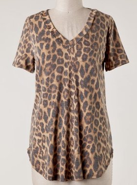 You'll Miss Me Leopard Top