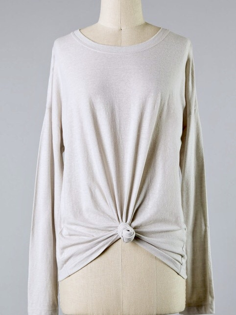 Alpaca Essential Long Sleeve Top