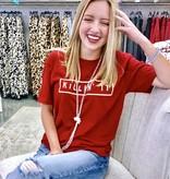 """Red """"Killin' It"""" T-shirt"""
