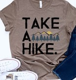"Light Brown ""Take A Hike"" T-shirt"