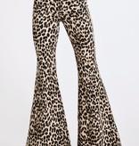 Show Stopper Leopard Bell Bottoms