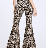 Show Stopper Leopard Bell Bottoms