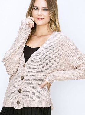Study Days Button up Sweater