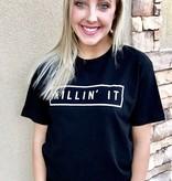 """Black """"Killin' It"""" T-shirt"""