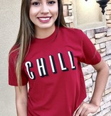"Red ""Chill"" T-shirt"