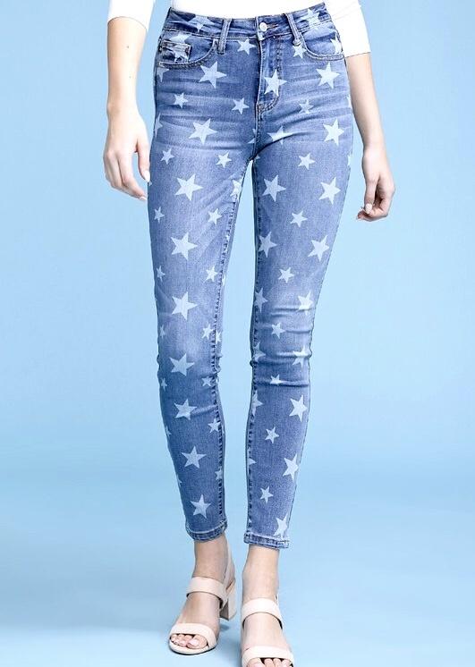 Star Crossed Skinny Jeans