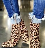 Tori Leopard Bootie