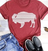 Aztec Print Buffalo T-Shirt