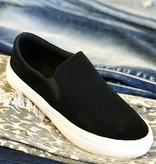 Katy Black Slip On