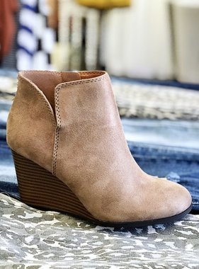 Kylie Bootie Taupe