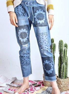 Flower Power Jeans