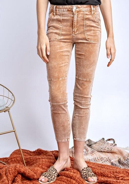 Camel Corduroy Jeans