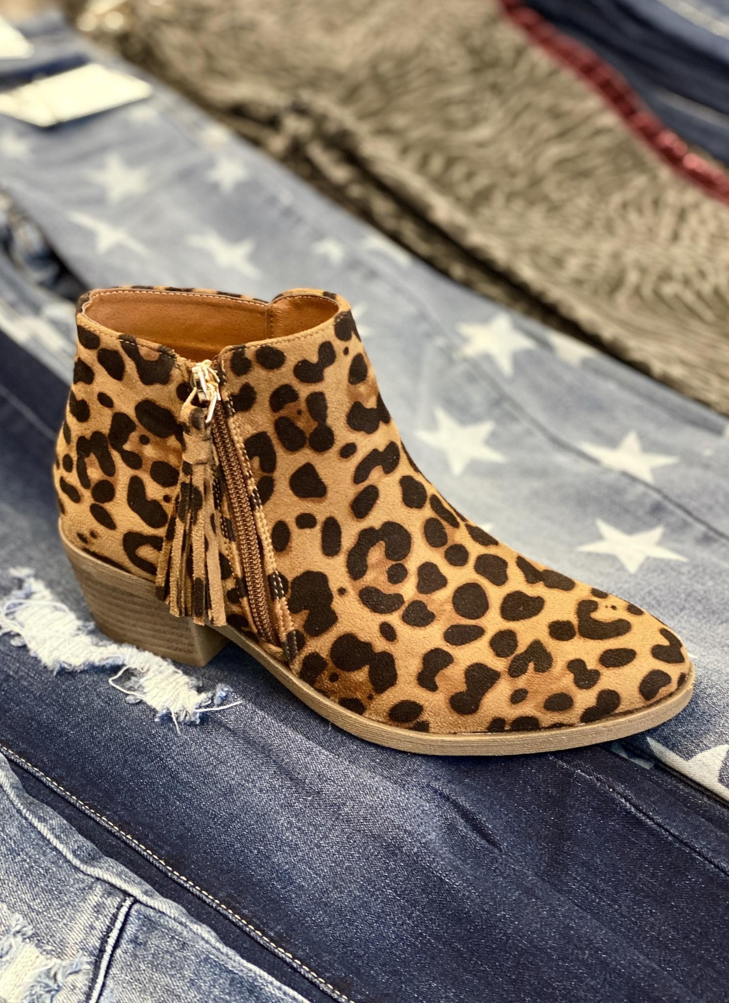 Callie Bootie Leopard
