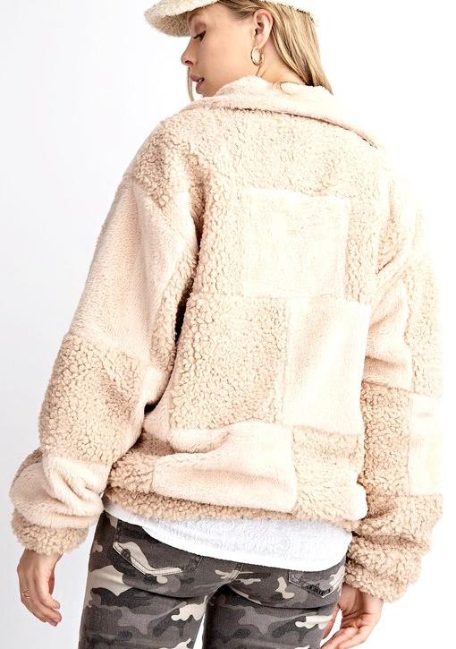 Camel Teddy Jacket