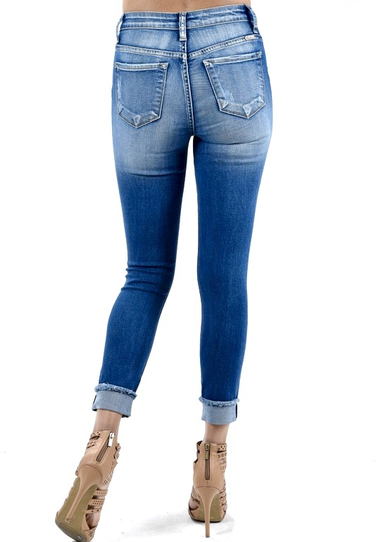 Kan Can Ankle Skinny Jeans