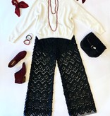 Ivory Crop Dream Sweater
