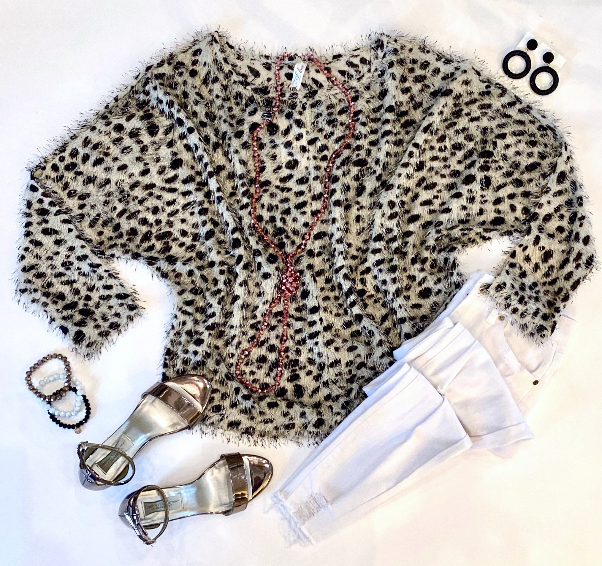 The Leopard Cool Girl Sweater