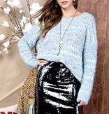 Black Sequin Night Out Skirt