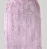 Misty Mauve Suede Skirt