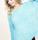 Mint Chenille Sweater